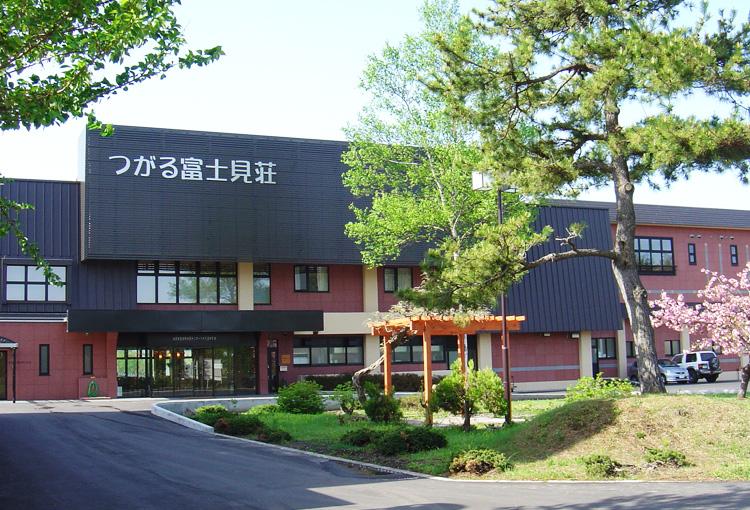 鶴の舞橋、岩木山が眺望できる温泉宿泊施設