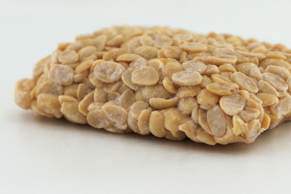 テンペとは、茹でた大豆に「テンペ菌」を植え付け約30℃で24時間ほど発酵させて作られる、インドネシアで400年以上も昔から親しまれてきた食品