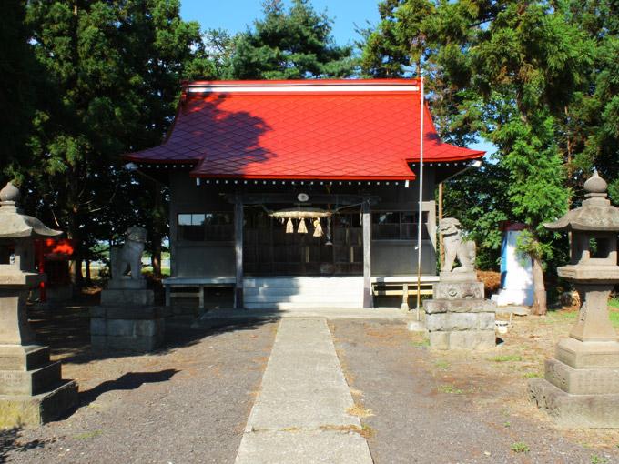 稲荷神社(木筒)