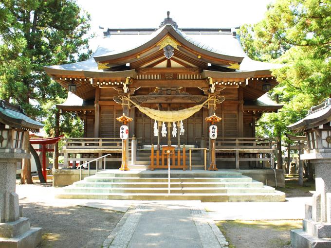 八幡宮(鶴田)