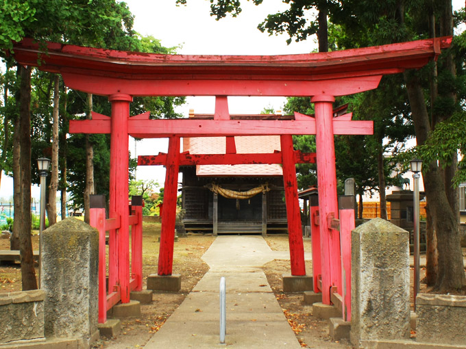 闇龗神社(山道)