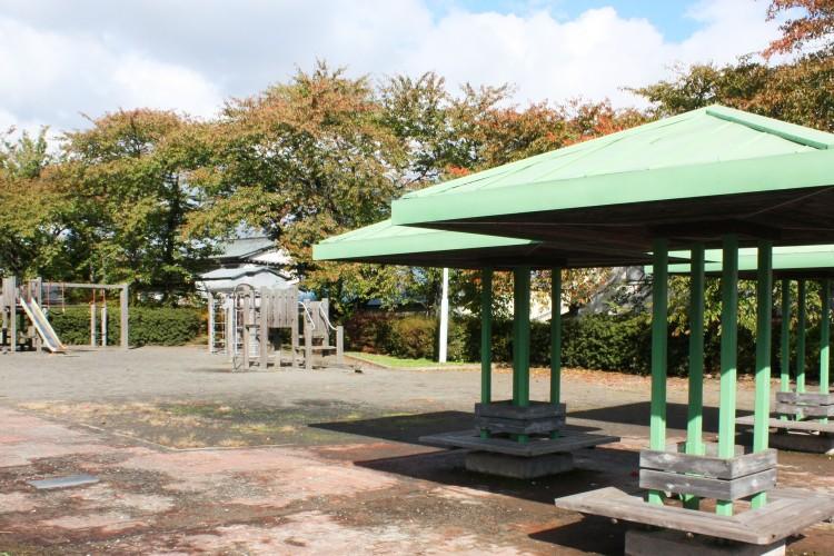 幼少期に遊んだ鶴寿公園