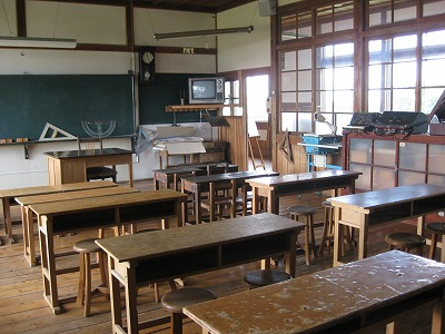 昭和時代の教室