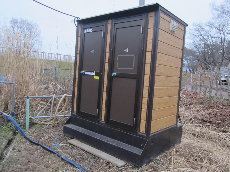 冬期間もご利用可能のトイレを設置しました