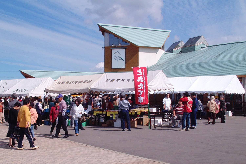 リンゴは国道339号線沿いにある道の駅つるた「鶴の里あるじゃ」で購入できる。