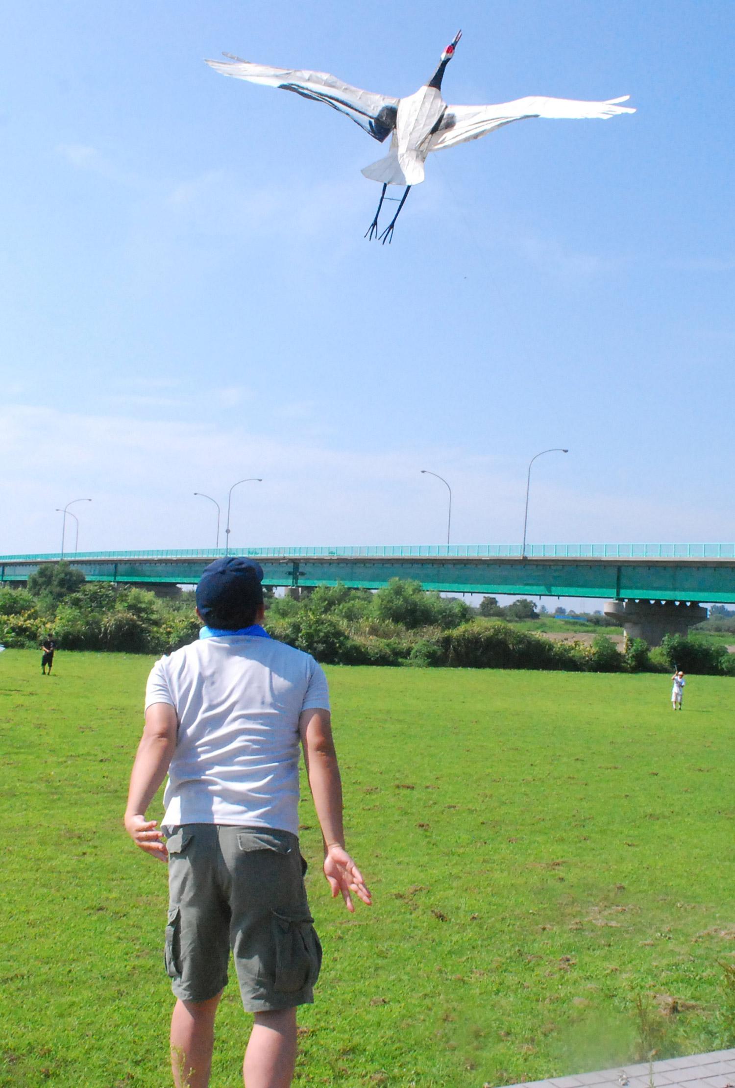鶴凧上げ大会