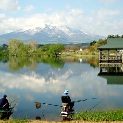 津軽富士見湖全国へら鮒釣り大会