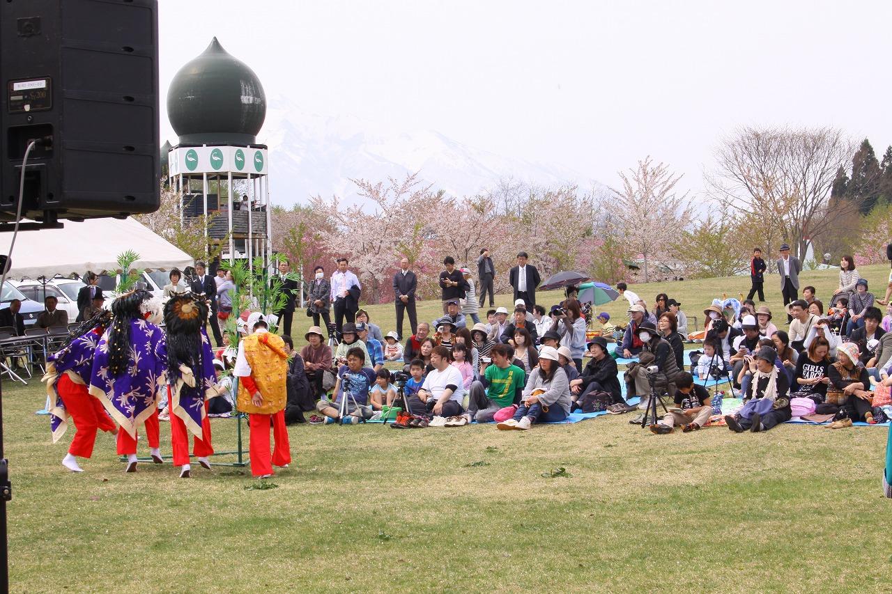 2016年4月29日~5月5日「第10回津軽富士見湖桜まつり」開催