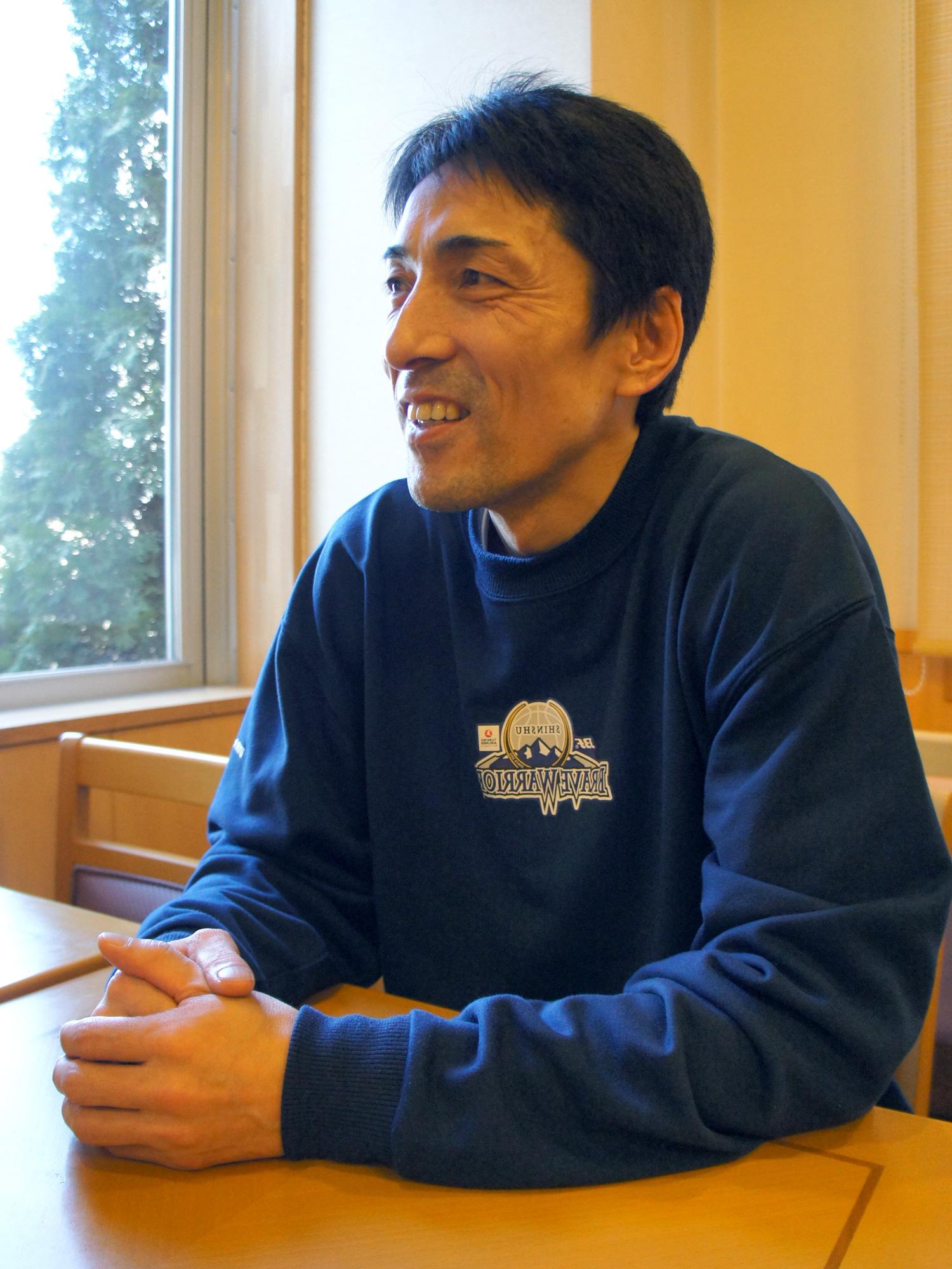 東京羽田ヴィッキーズ ヘッドコーチ棟方公寿さん