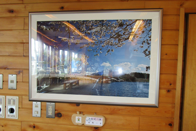 JR陸奥鶴田駅「鶴の舞橋」写真