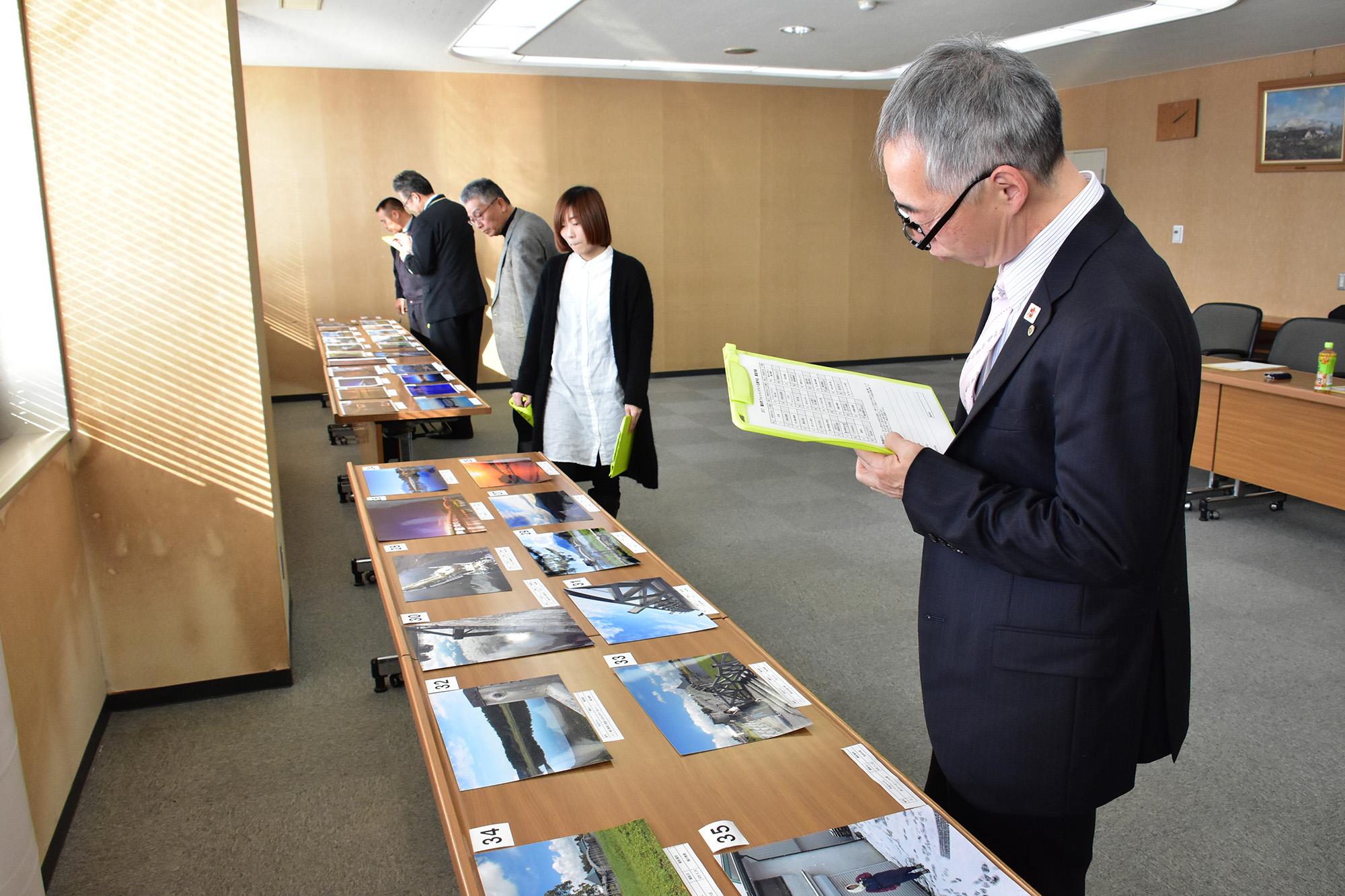 鶴田町フォトコンテスト2017 審査会