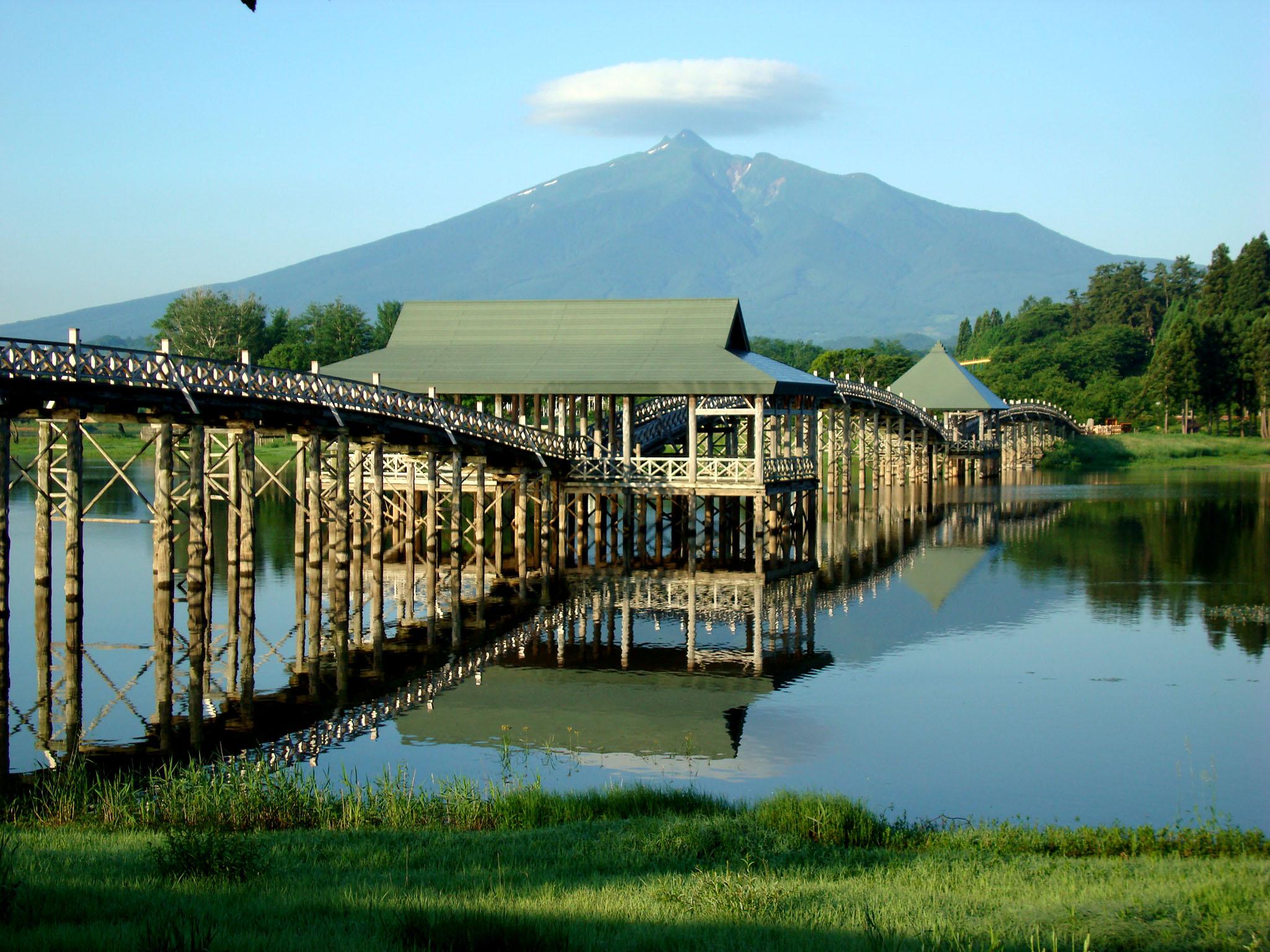 鶴の舞橋ぶらから散歩