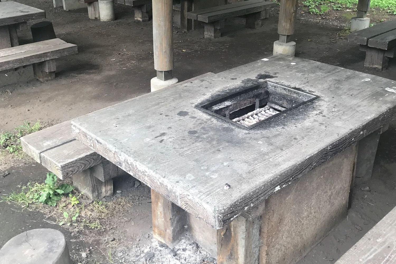 富士見湖パーク バーベキュー施設